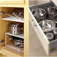 хранение на кухне идеи фото 36