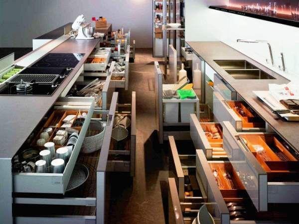 системы хранения на кухне фото 2
