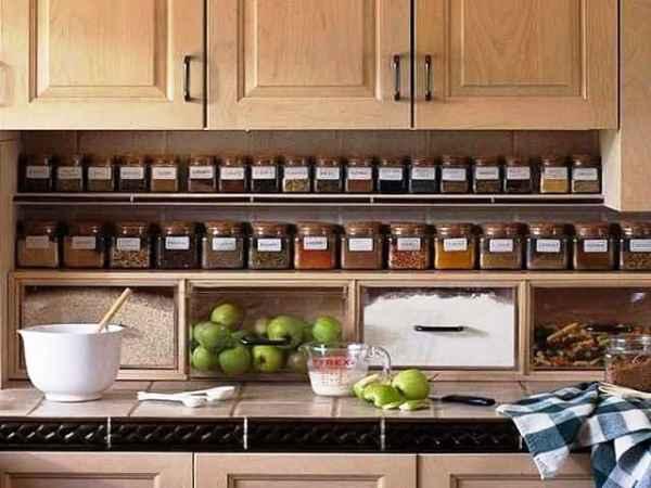 системы хранения на кухне фото 31