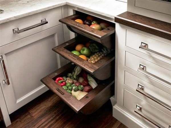 системы хранения на кухне фото 32