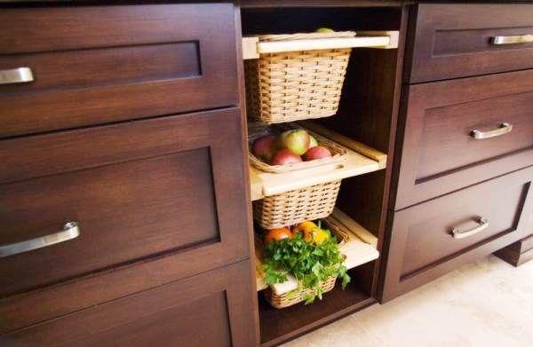 системы хранения на кухне фото 33