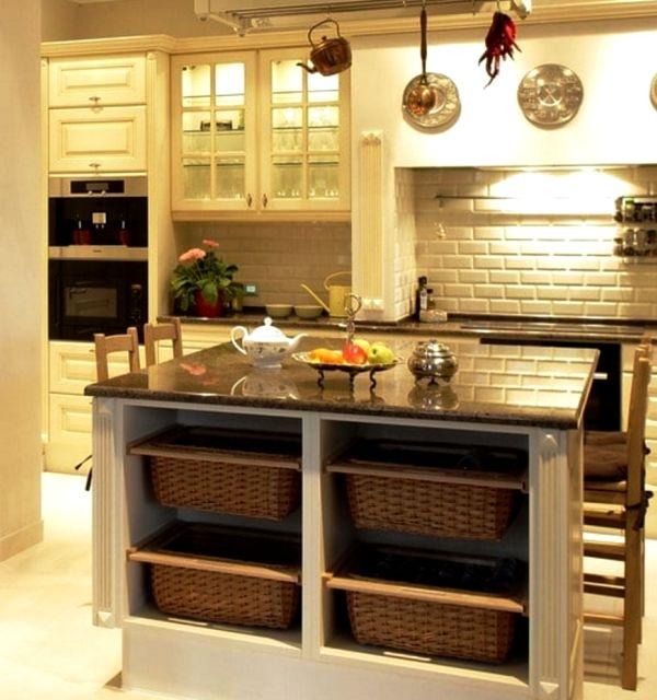 системы хранения на кухне фото 34