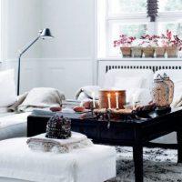 гостиная в скандинавском стиле фото 18