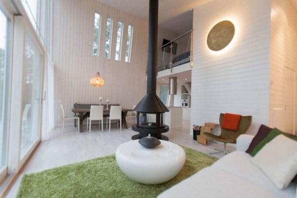 гостиная в скандинавском стиле фото 3