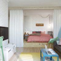 гостиная в скандинавском стиле фото 43