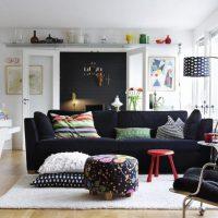 гостиная в скандинавском стиле фото 60
