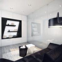 гостиная в стиле хай тек фото 29