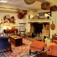 гостиная в стиле кантри фото 63