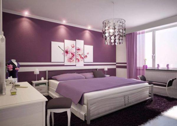 натяжные потолки с лампочками фото в спальне