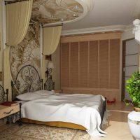 натяжные потолки в спальне фото 24