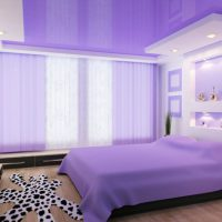 натяжные потолки в спальне фото 26