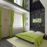 натяжные потолки в спальне фото 34