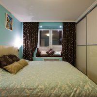 натяжные потолки в спальне фото 43