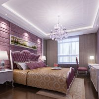 натяжные потолки в спальне фото 57