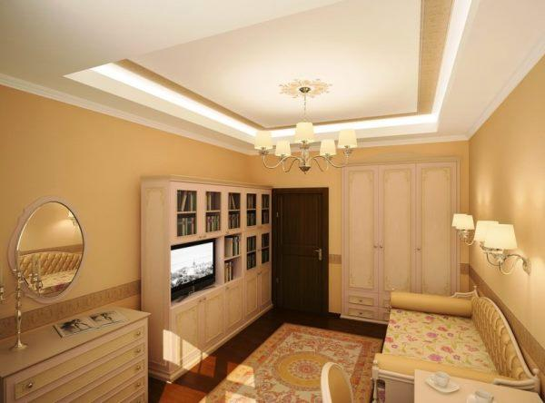 планировка зала в квартире фото