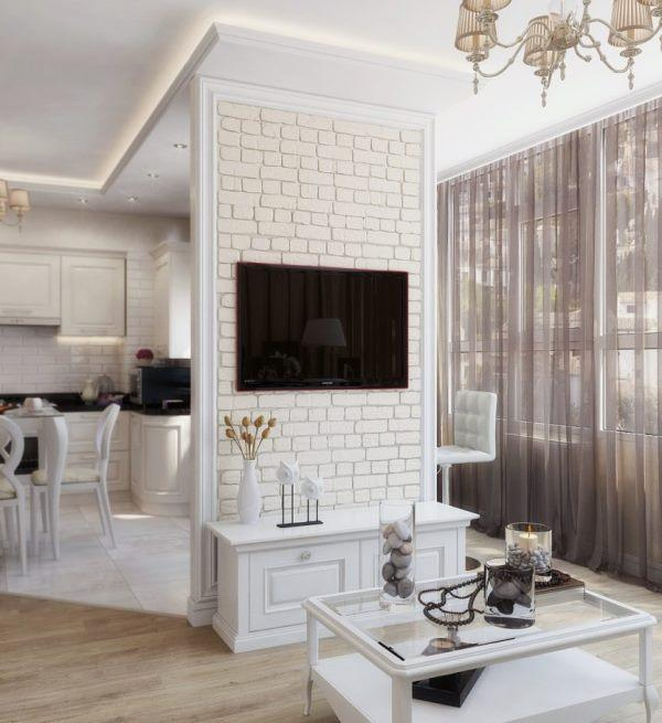 Планировка гостиной комнаты