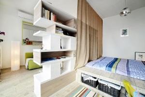 дизайн однокомнатной квартиры 40 кв м фото в современном стиле