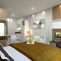 дизайн 1-комнатной квартиры 40 кв м фото 10