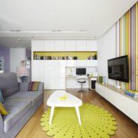 дизайн 1-комнатной квартиры 40 кв м фото 11