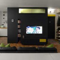 дизайн 1-комнатной квартиры 40 кв м фото 12