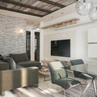 дизайн 1-комнатной квартиры 40 кв м фото 15