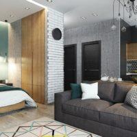 дизайн 1-комнатной квартиры 40 кв м фото 25