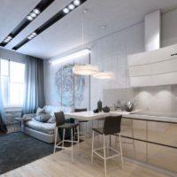 дизайн 1-комнатной квартиры 40 кв м фото 26