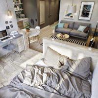 дизайн 1-комнатной квартиры 40 кв м фото 28