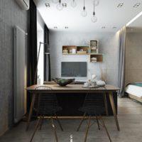 дизайн 1-комнатной квартиры 40 кв м фото 29