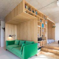 дизайн 1-комнатной квартиры 40 кв м фото 32