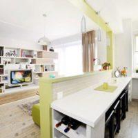 дизайн 1-комнатной квартиры 40 кв м фото 38