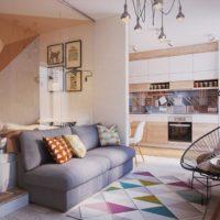 дизайн 1-комнатной квартиры 40 кв м фото 39