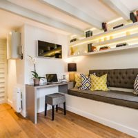дизайн 1-комнатной квартиры 40 кв м фото 41