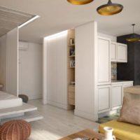 дизайн 1-комнатной квартиры 40 кв м фото 47