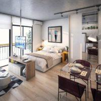 дизайн 1-комнатной квартиры 40 кв м фото 48