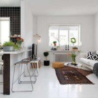 дизайн 1-комнатной квартиры 40 кв м фото 50