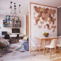 дизайн 1-комнатной квартиры 40 кв м фото 7