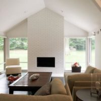 интерьер гостиной в стиле минимализм фото 12