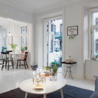 интерьер гостиной в стиле минимализм фото 19