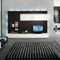 интерьер гостиной в стиле минимализм фото 2
