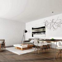 интерьер гостиной в стиле минимализм фото 24