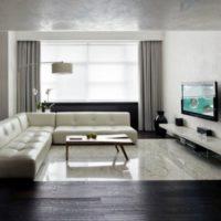 интерьер гостиной в стиле минимализм фото 28