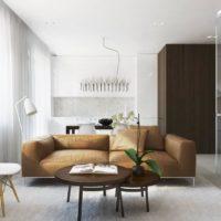 интерьер гостиной в стиле минимализм фото 29