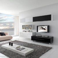 интерьер гостиной в стиле минимализм фото 35