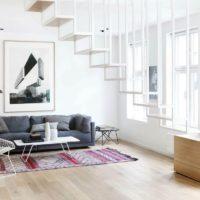 интерьер гостиной в стиле минимализм фото 44