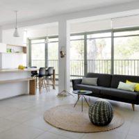 интерьер гостиной в стиле минимализм фото 46
