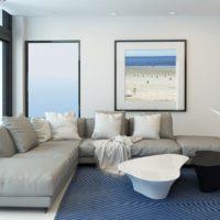 интерьер гостиной в стиле минимализм фото 48