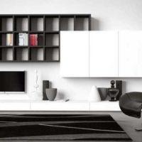 интерьер гостиной в стиле минимализм фото 50