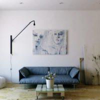 интерьер гостиной в стиле минимализм фото 52