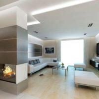 интерьер гостиной в стиле минимализм фото 53